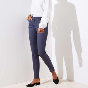 Loft tall plus size skinny pants/costal grey